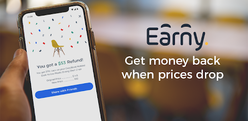 Earny: Money Back & Savings After Online Shopping - Apps on