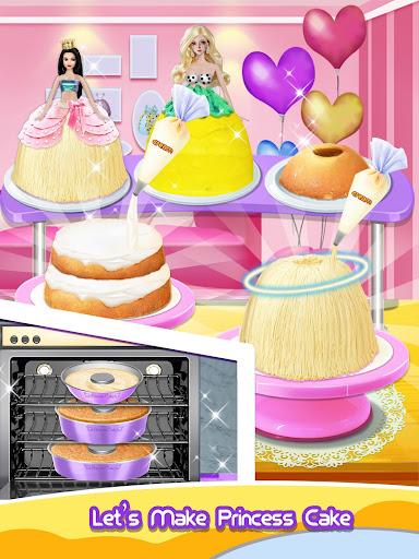 Princess Cake - Sweet Trendy Desserts Maker apkpoly screenshots 7