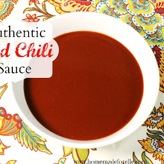 Authentic Red Chile Sauce (for enchiladas, posole, or huevos rancheros)