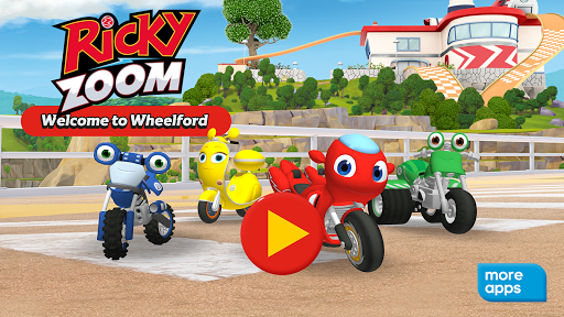 Ricky Zoomu2122: Welcome to Wheelford apkpoly screenshots 1