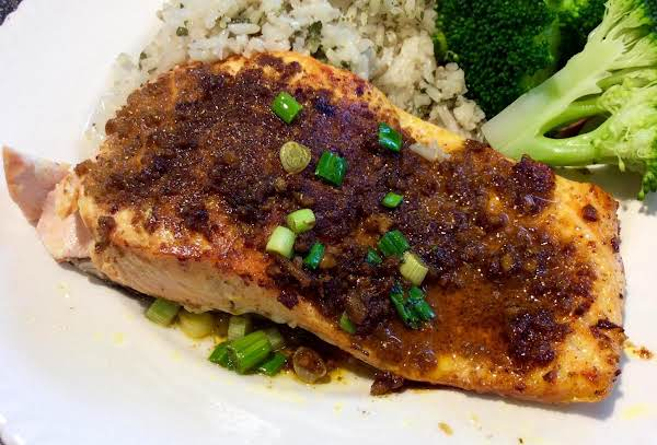 Pan-roasted Salmon With Ginger And Curry Recipe