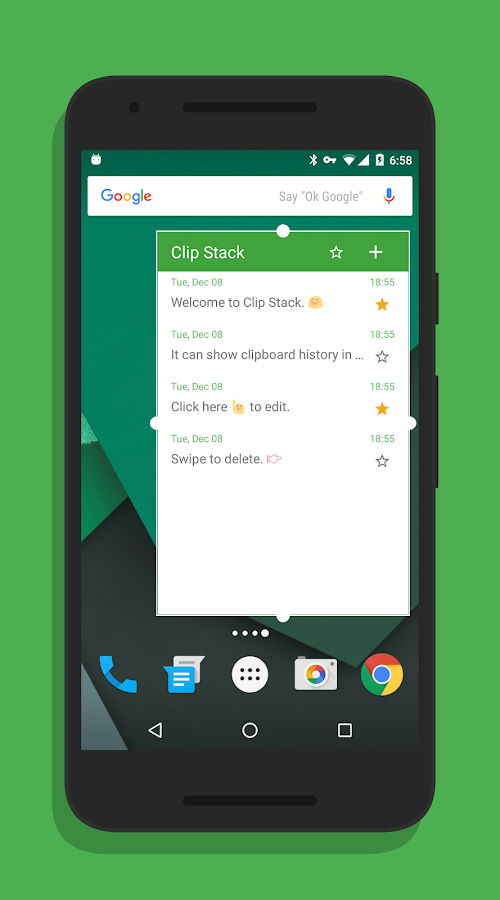 Clip Stack - Clipboard Manager: captura de pantalla