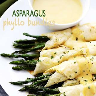 Asparagus Phyllo Bundles.