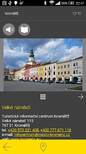 Kroměříž - audio tour- screenshot thumbnail
