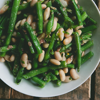 Bean Salad with Lemon-Anchovy Dressing