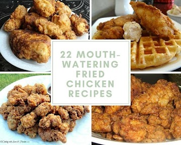 22 Mouth-watering Fried Chicken Recipes