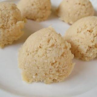 Raw Coconut Macaroons.