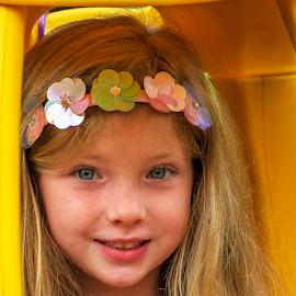 Gianna at five by Joe Saladino - Babies & Children Child Portraits ( girl, family, portrait, child )