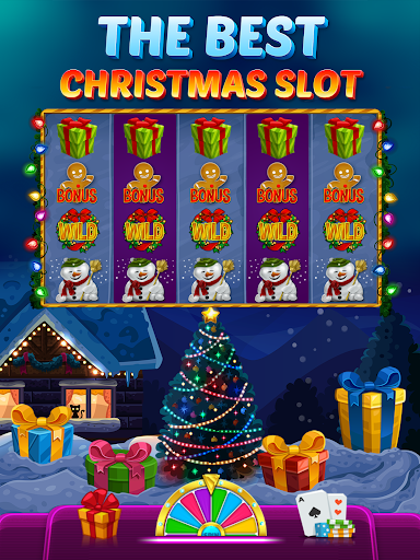 Happy Christmas Slot - Hot Las Vegas Casino 2.20.0 screenshots 1