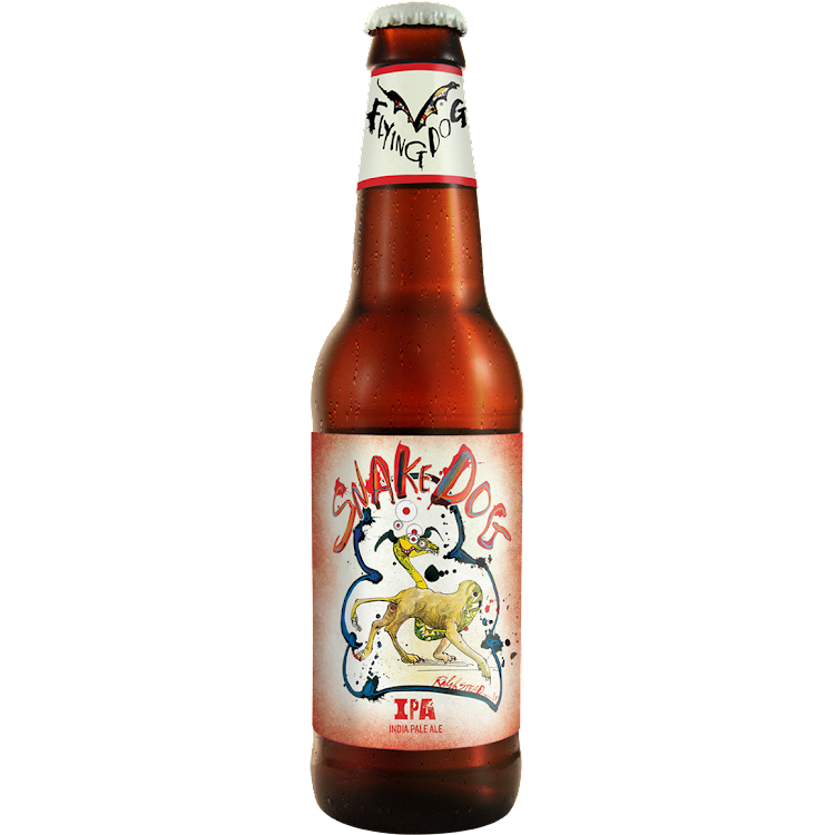 Logo of Flying Dog Snake Dog IPA