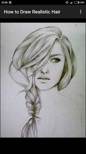 How to Draw Realistic Hair  screenshots 9