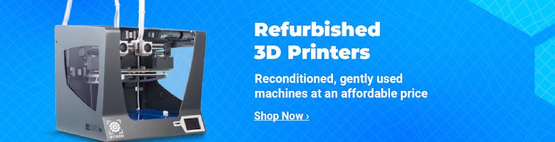 Refurbished 3D Printers and Machines
