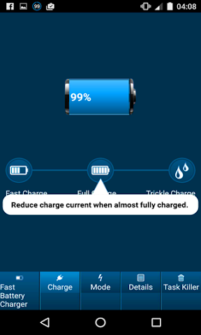android Fast Battery Charger mAH Screenshot 17