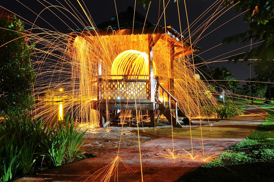 by Suhendhik Sk - Abstract Fire & Fireworks