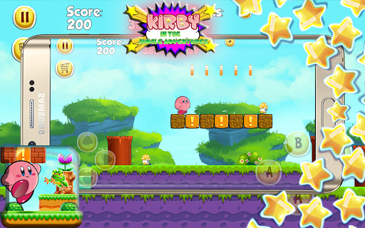 Kirdy in the Jungle Adventures game (apk) free download for Android/PC/Windows screenshot