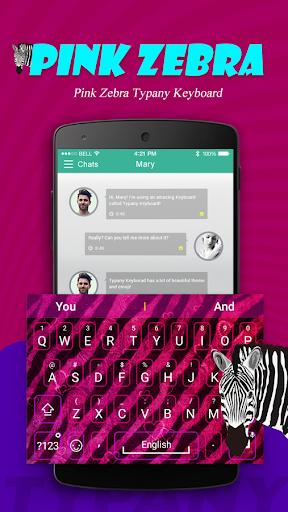 mod Pink Zebra Typany Theme 3.0 screenshots 1
