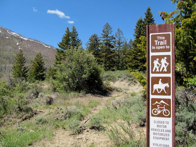 Corner Canyon trail