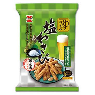 岩塚製菓 鹽芥末仙貝條 95g