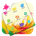 Assistive Touch Holi Theme icon