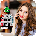 Girl Mobile Number Simulator icon