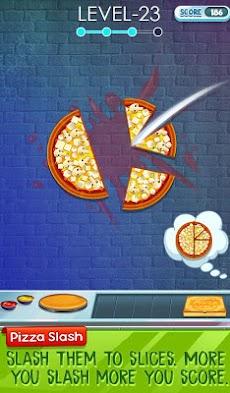 スライスを合わせる - ピザスライスパズルのおすすめ画像2