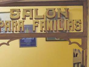 """Photo: Un recuerdo. """"Salón para familias"""" Bar Restaurante Cordano Centro de Lima Mayo - 2014"""
