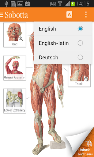 Sobotta Anatomy screenshot