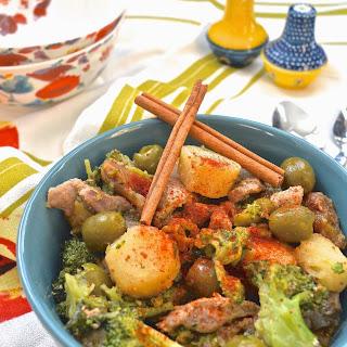 Moroccan Pork Stir Fry (Paleo, AIP, GAPS, Gluten Free).