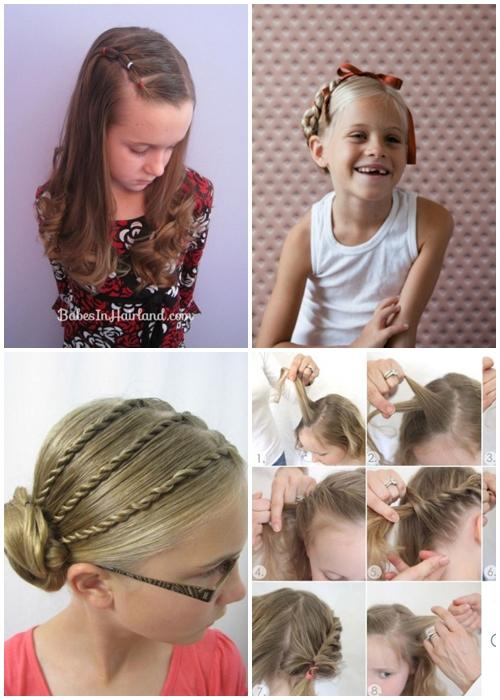 Pleasing Easy Little Girl Hairstyles Android Apps On Google Play Short Hairstyles Gunalazisus