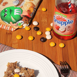 Easy Apple Crisp featuring M&M's® Pecan Pie