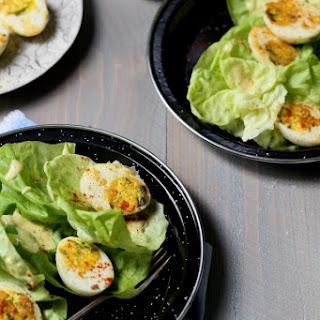 Jacques Pépin's Pan-Crisped Deviled Egg Salad
