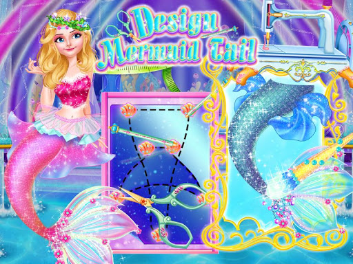 Tailor Mermaid Tail Dress