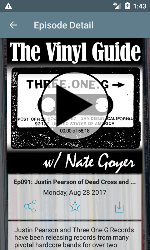 The Vinyl Guide- screenshot