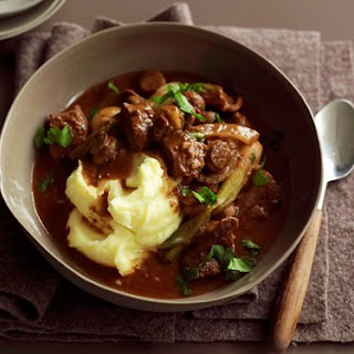 Slow-cooker Beef, Mushroom And Red Wine Stew