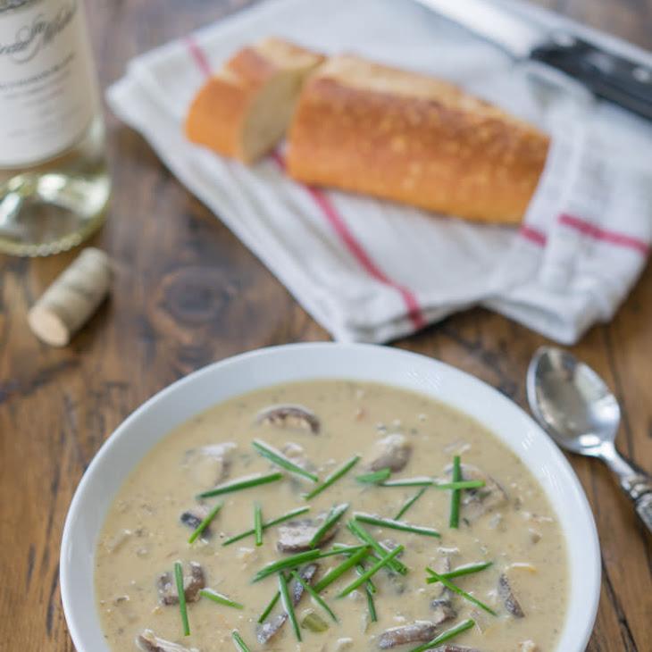 Cream of Quinoa and Mushroom Soup