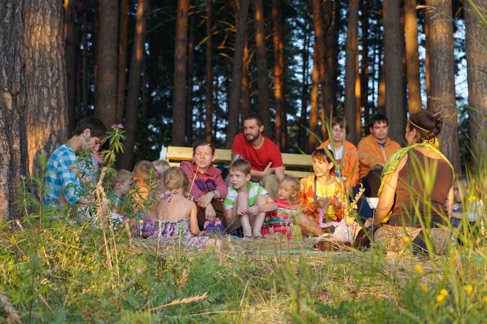Семейный лагерь Во лузях, Новосибирск