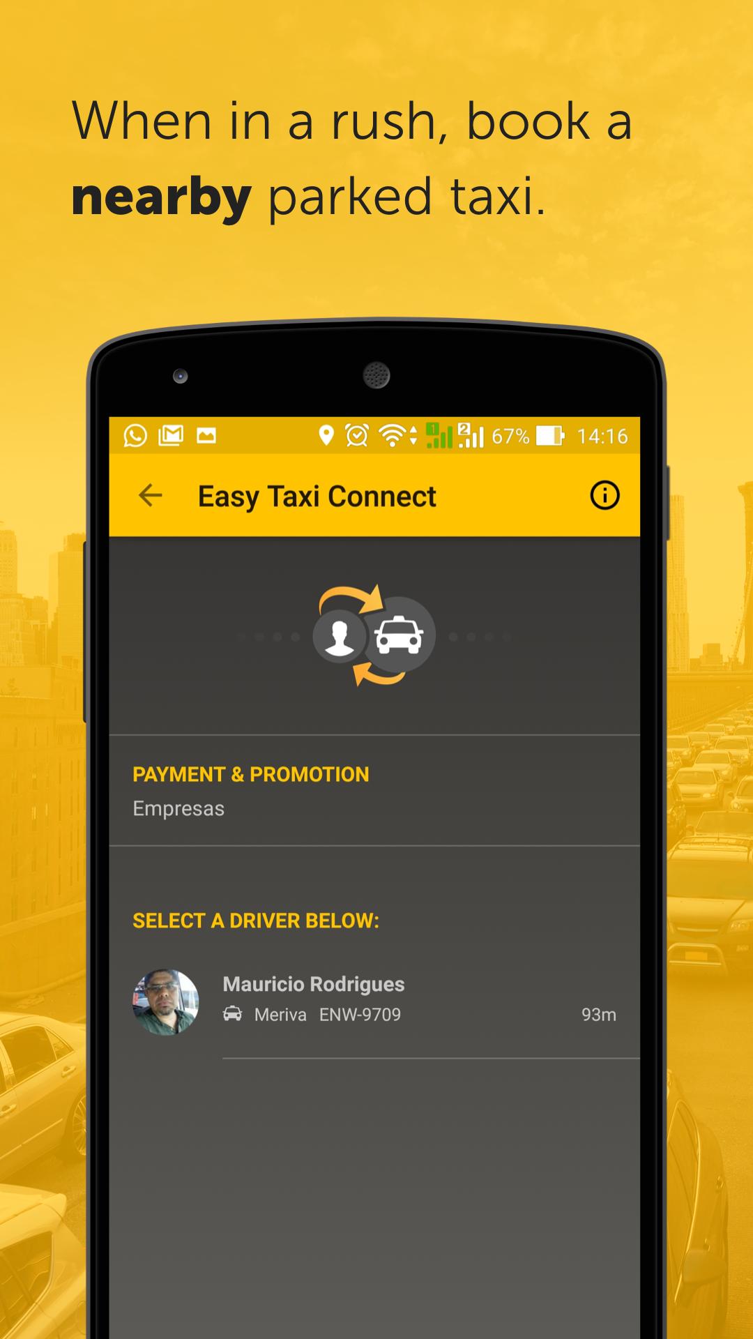Easy - taxi, car, ridesharing screenshot #5