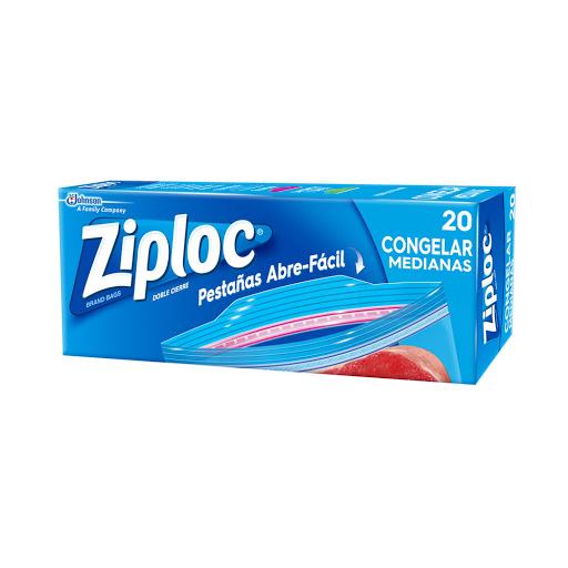 bolsas ziploc para congelar mediana 20 und