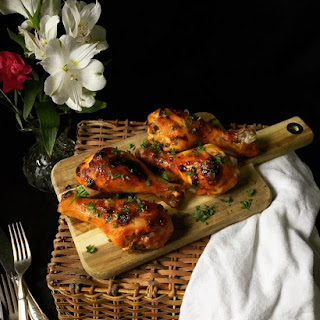 Spicy Chicken Drumsticks.