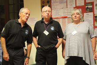 Photo: Len, Tom and Barbara
