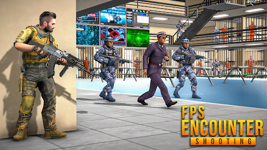 FPS Encounter Shooting 2020: New Shooting Games 2