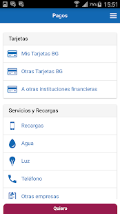 Banca Virtual Móvil- screenshot thumbnail