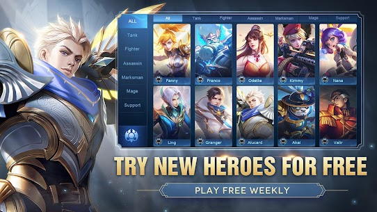 Mobile Legends: Bang Bang MOD APK (Unlimited Diamonds) 4