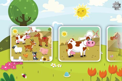 Animal Jigsaw Puzzle Toddlers 3.5 screenshots 1