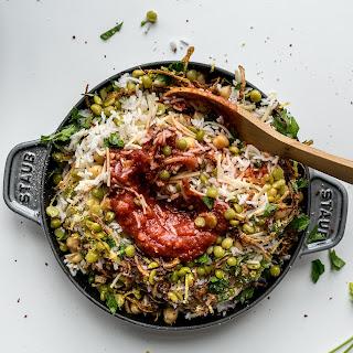 Egyptian Kosheri Rice.