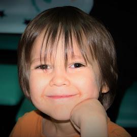 Sweet Xavier  by Michelle Brush - Babies & Children Child Portraits