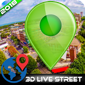 Earth Map 2018-Street View compass Route Finder