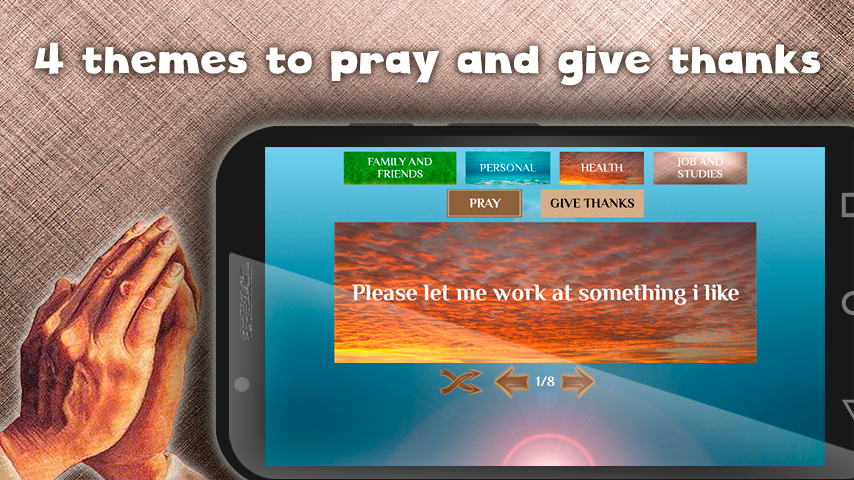 Prayers and blessings- screenshot