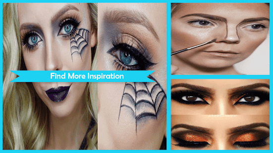 Easy Halloween Eye Makeup Step by Step - náhled