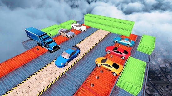 Real Impossible Tracks Stunts: 3D Car Racing Game - náhled